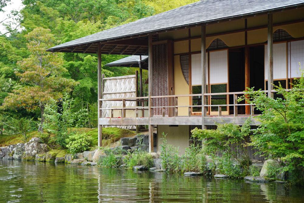 玉露の里で日本庭園を愛でながら高級玉露を味わう【静岡県・朝比奈玉露・抹茶】