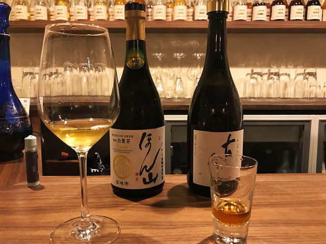 高級ボトルティーと日本酒のペアリングが成立するのか東京銀座の日本酒BAR貸切って検証してみた【東京都・銀座】